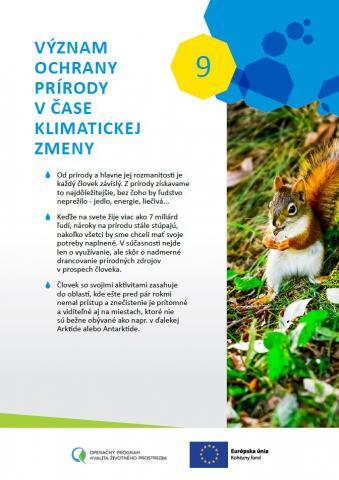 Ilustračný obrázok k zdroju Brožúrky o očakávanom vplyve klimatickej zmeny na rôzne oblasti života a o potrebe aktivity