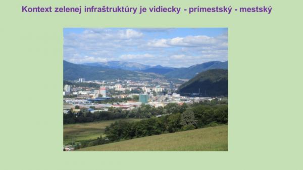 Ilustračný obrázok k zdroju Postavenie a funkcie zelenej infraštruktúry v mestách