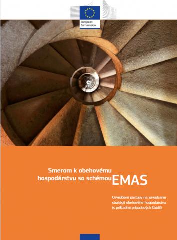 Ilustračný obrázok k zdroju Smerom k obehovému hospodárstvu so systémom EMAS – Osvedčené postupy na zavádzanie stratégií obehového hospodárstva